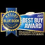 2017 Kelley Blue Book Best Buy Overall Winner