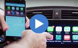 2017 Honda CR-V Apple CarPlay Video