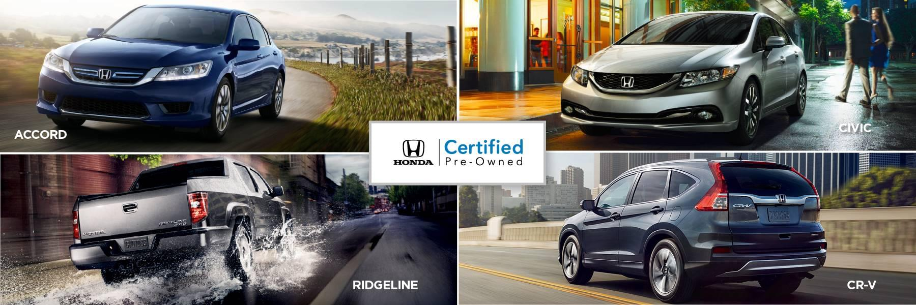 North Country Honda Dealers Certified Pre-Owned Vehicles