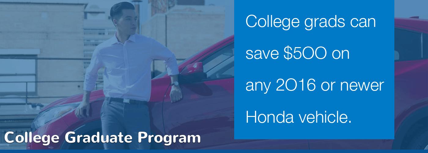 North Country Honda College Graduate Program