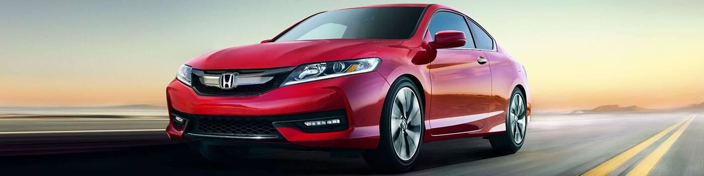 Honda Accord Coupe Incentives Banner