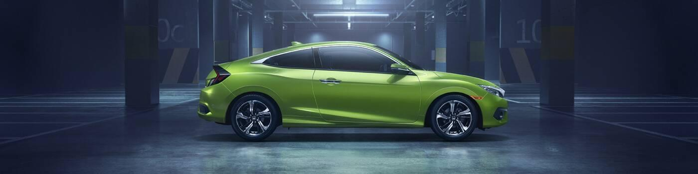 Honda Civic Coupe Incentives Banner