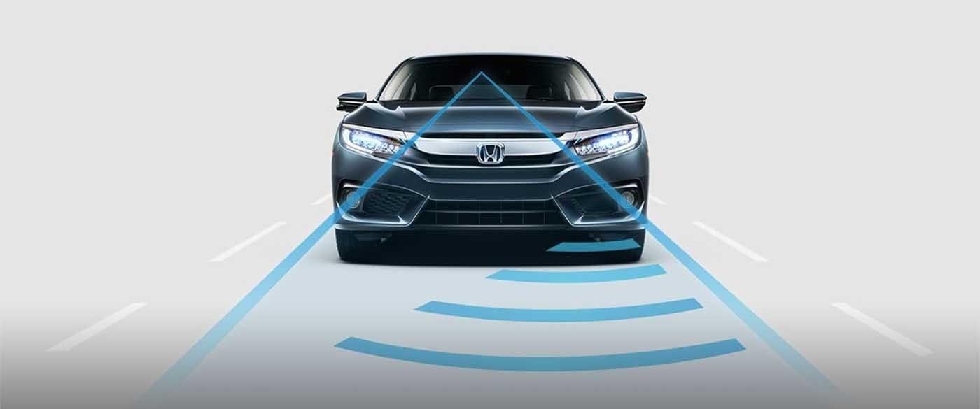2017 Honda Civic Sedan Adaptive Cruise Control