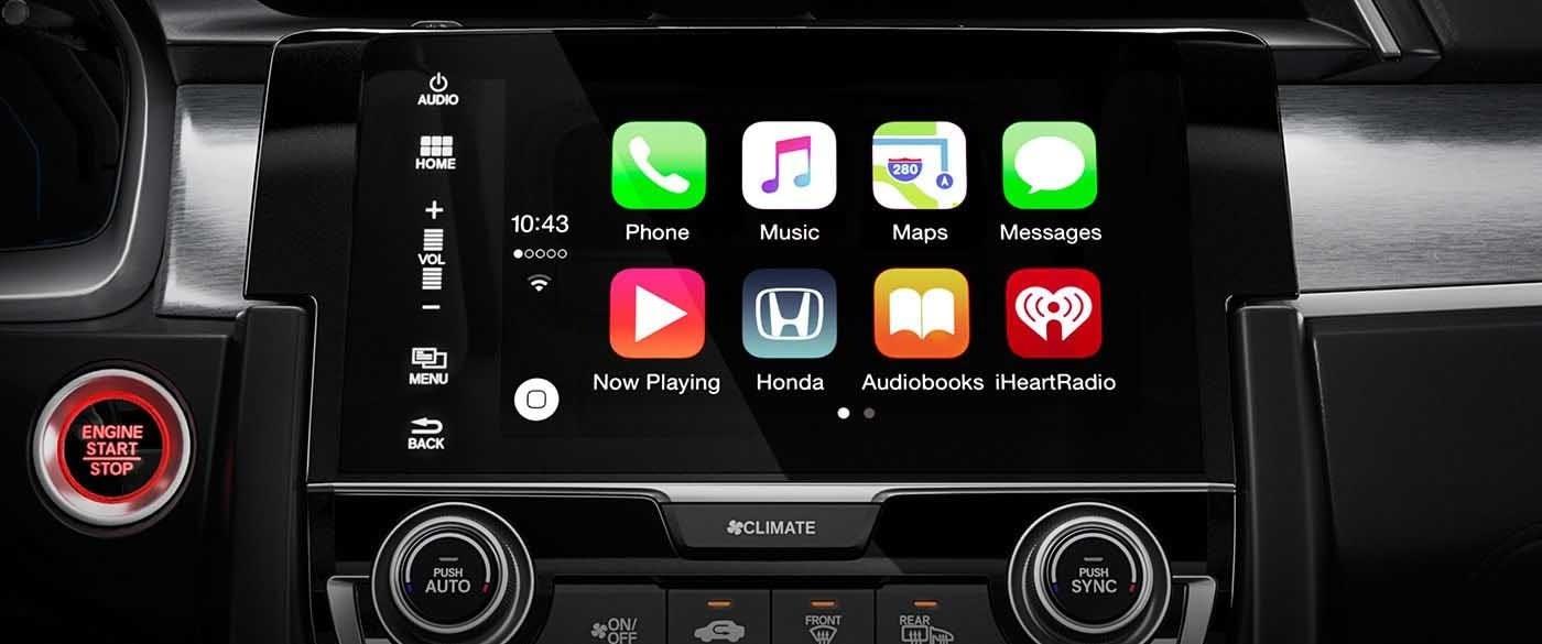 2017 Honda Civic Sedan Apple Carplay