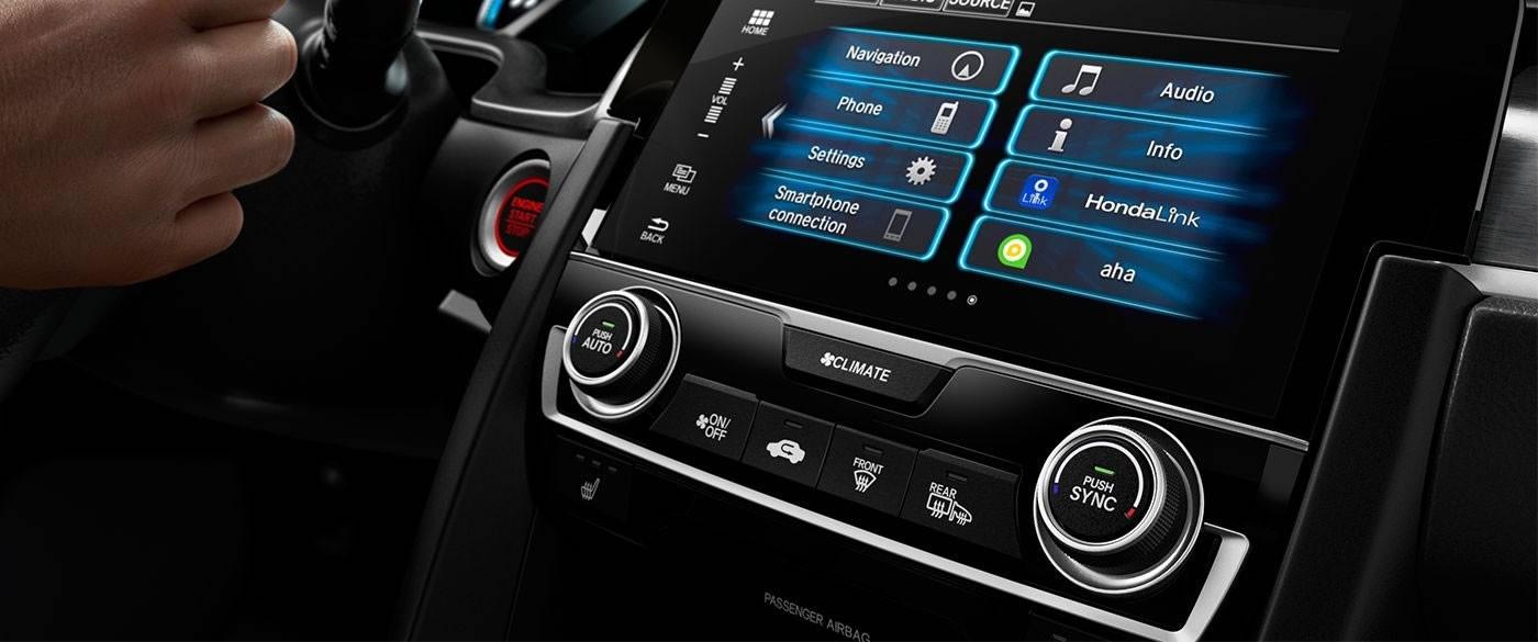 2017 Honda Civic Sedan 7 inch Audio Display Screen
