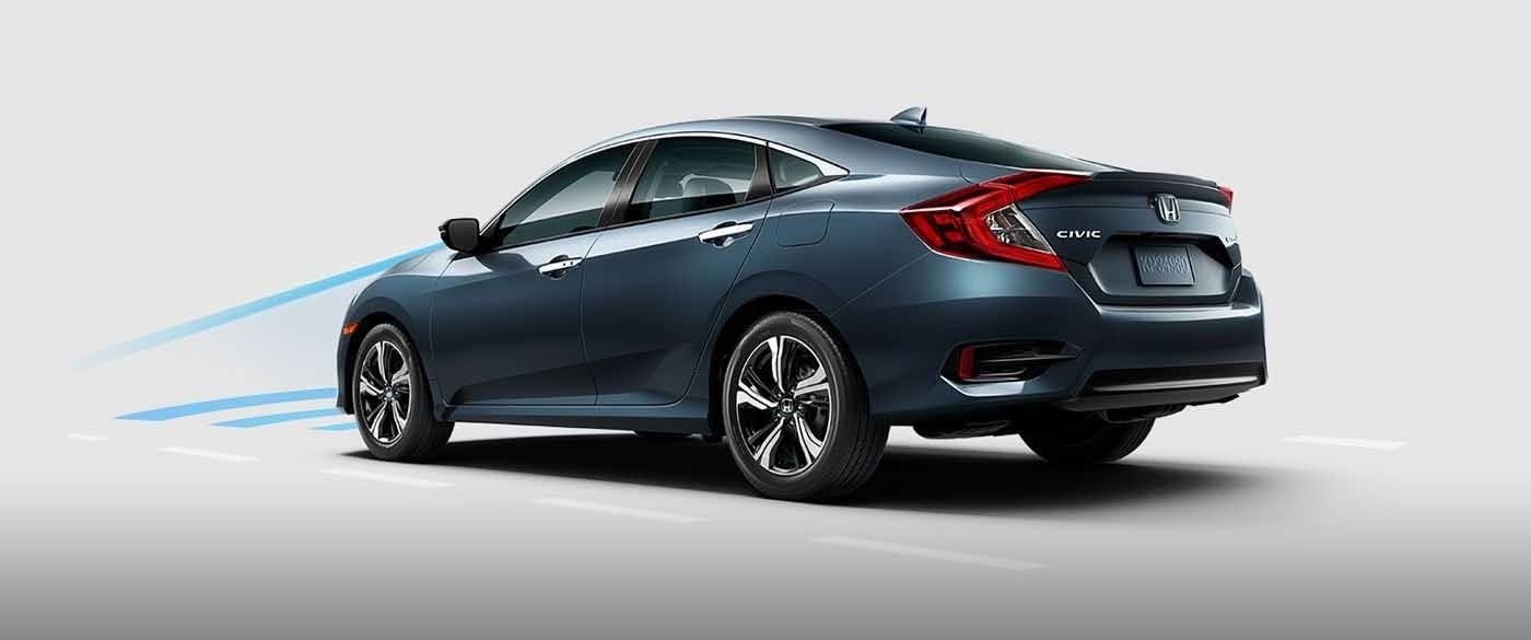 2017 Honda Civic Sedan Collision Mitigation Braking System