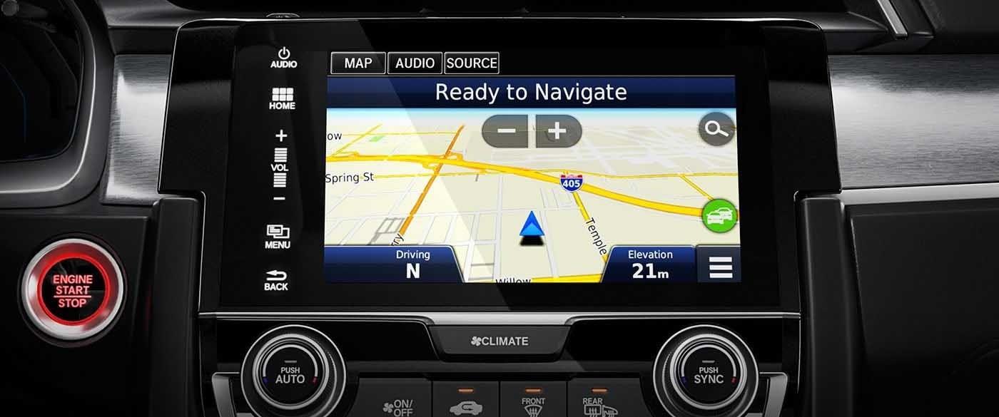 2017 Honda Civic Sedan Navigation