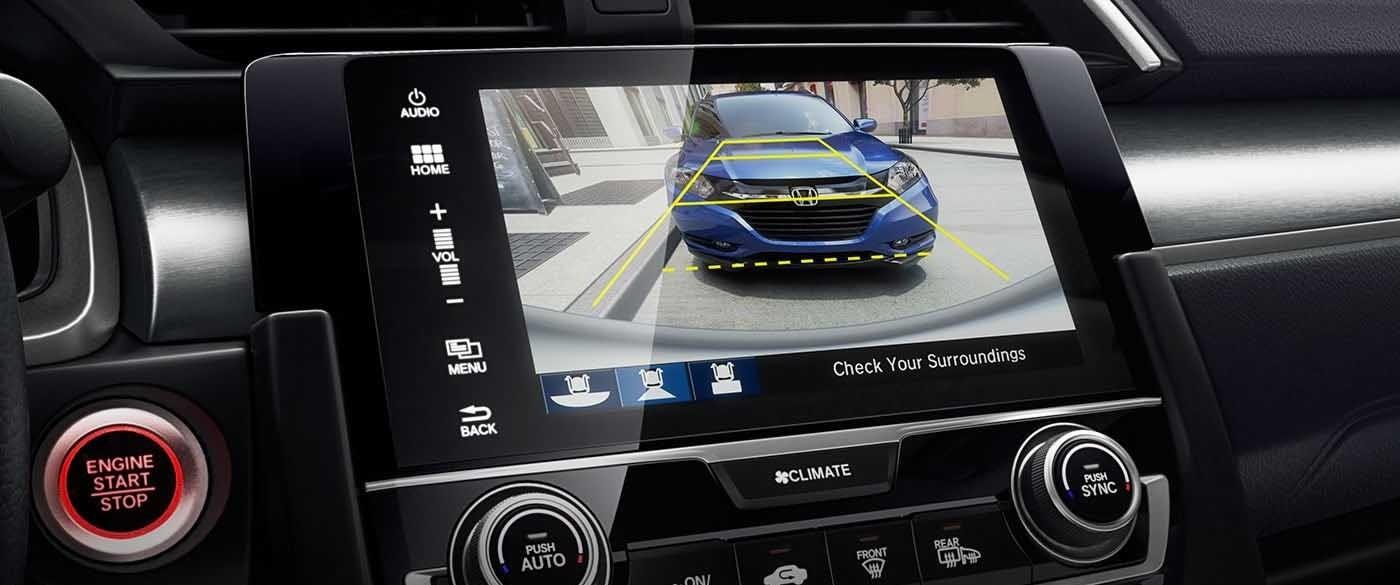 2017 Honda Civic Sedan Rearview Camera