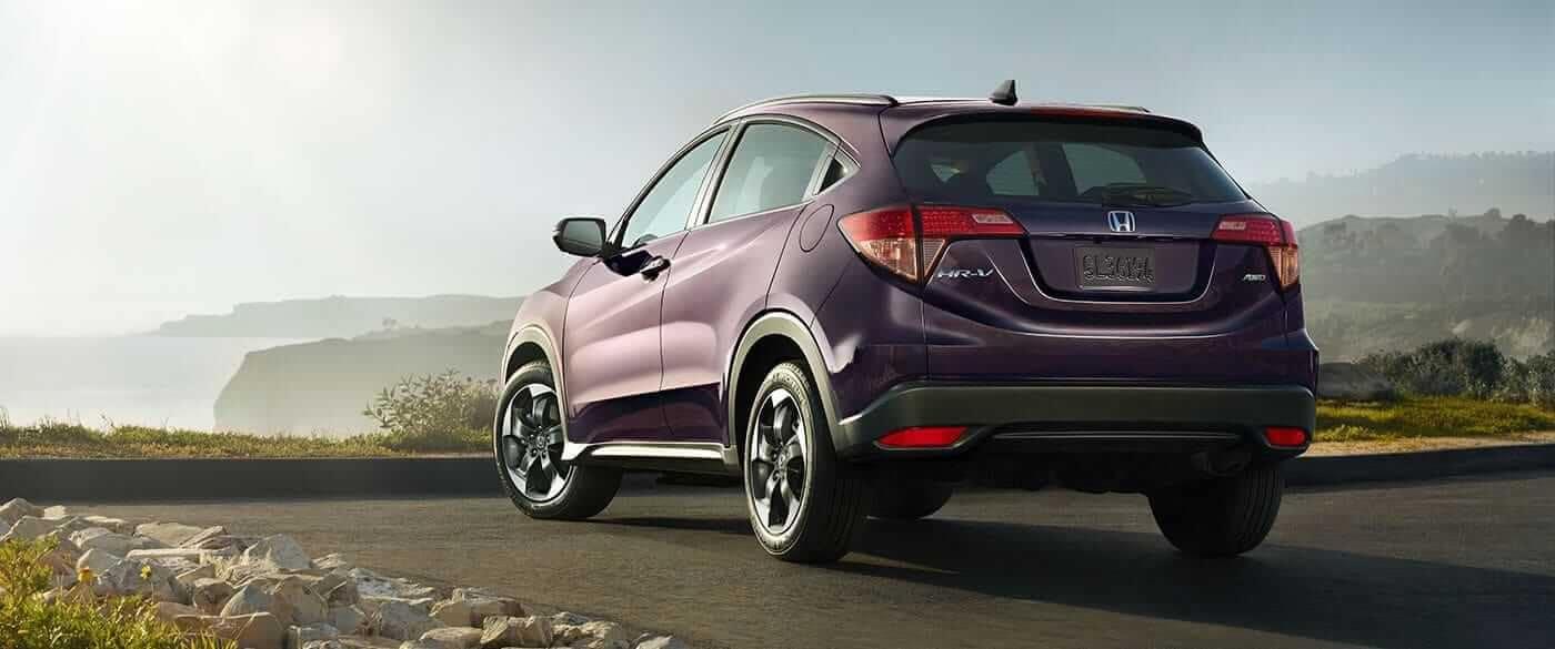 2018 Honda Fit Parked HR V