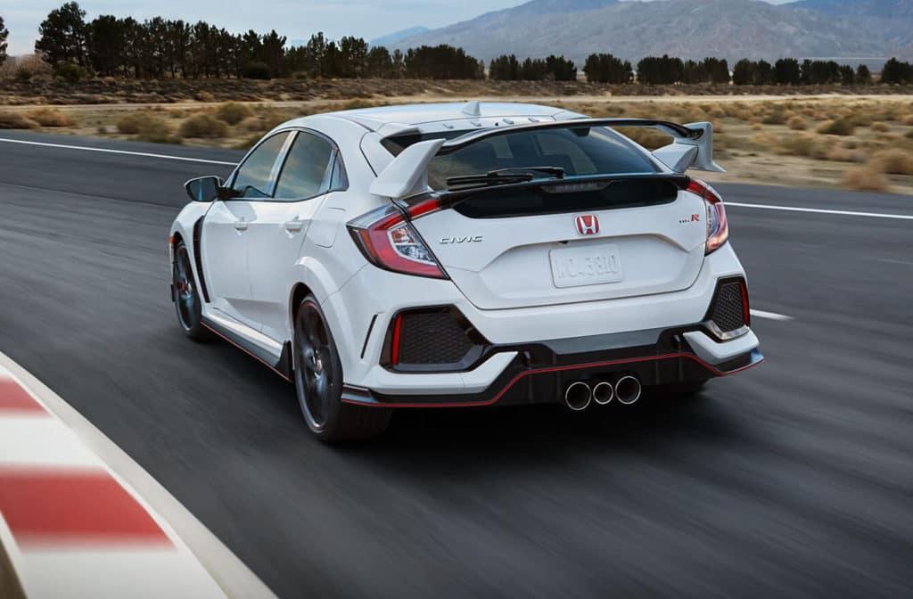 2018 Honda Civic Type R | North Country Honda Dealers ...