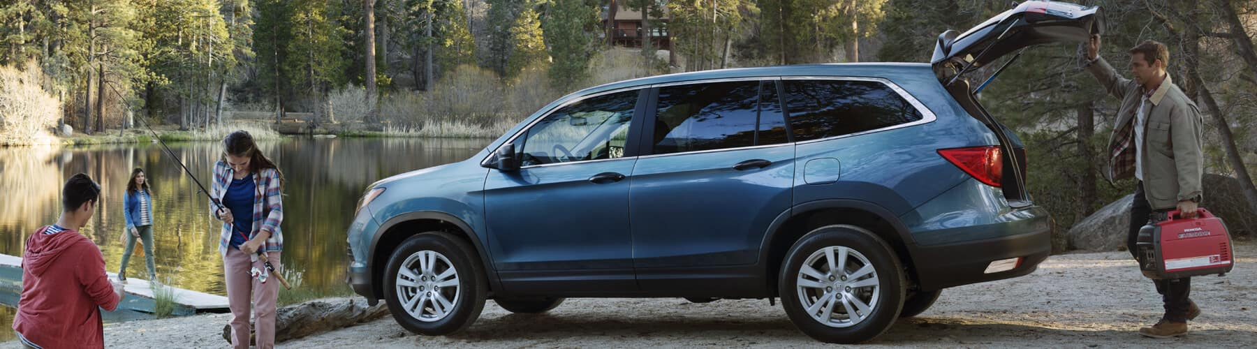 2018 Honda Pilot North Country Honda Dealers Midsize Family Suv