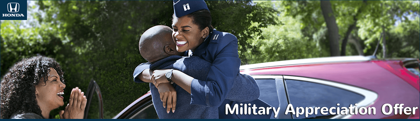 North Country Honda Dealers Military Appreciation Offer