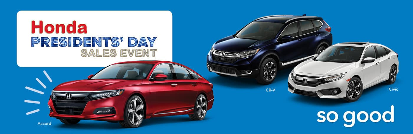 North Country Honda Presidents Day Sales Event