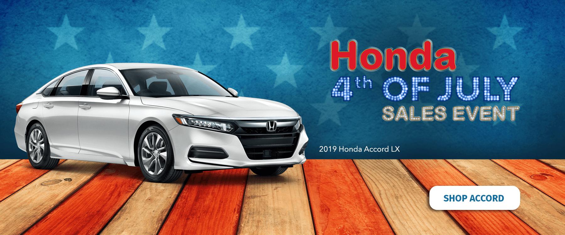 Honda 4th Of July Sales Event Summer Car Deals North Country Honda Dealers