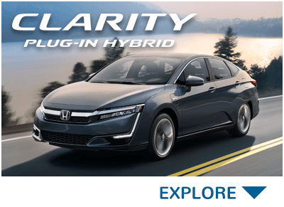 Honda Clarity Plug-In Hybrid Button