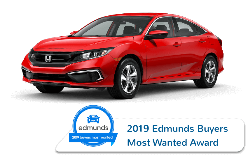 2019 Honda Civic Sedan Edmunds Award Image