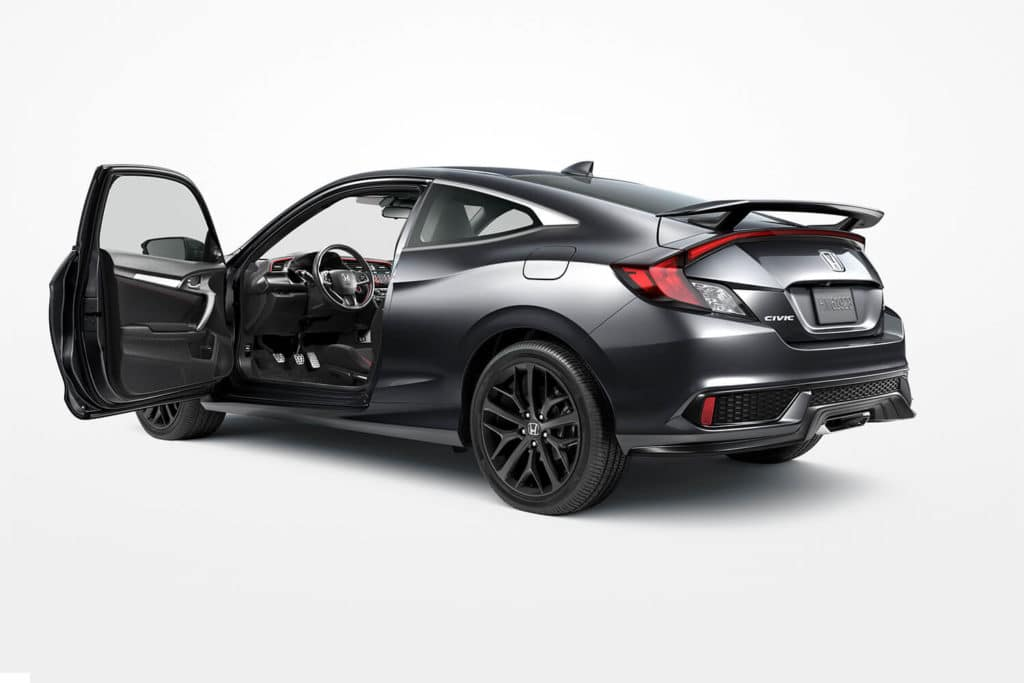 2020 Honda Civic Si Coupe Sport Compact Car North Country Honda Dealers