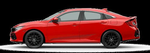 2020 Honda Civic Si Sedan Button