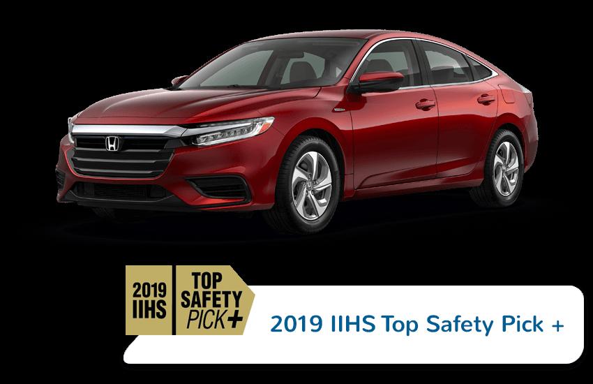 2020 Honda Insight IIHS Award Image