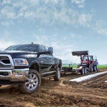 2018 Ram 2500 Laramie Longhorn on farmland