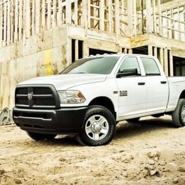 2018 Ram 2500 Tradesman on commercial building site