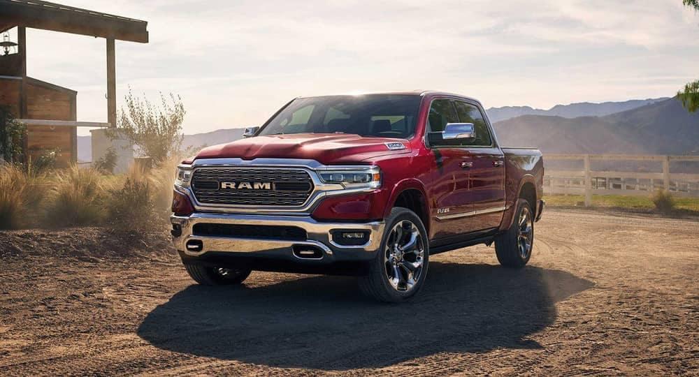 Red 2019 Ram 1500