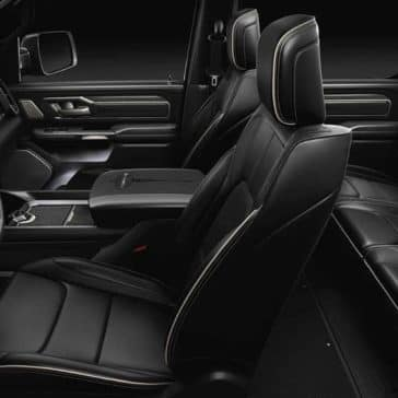 interior seating in 2019 Ram 1500