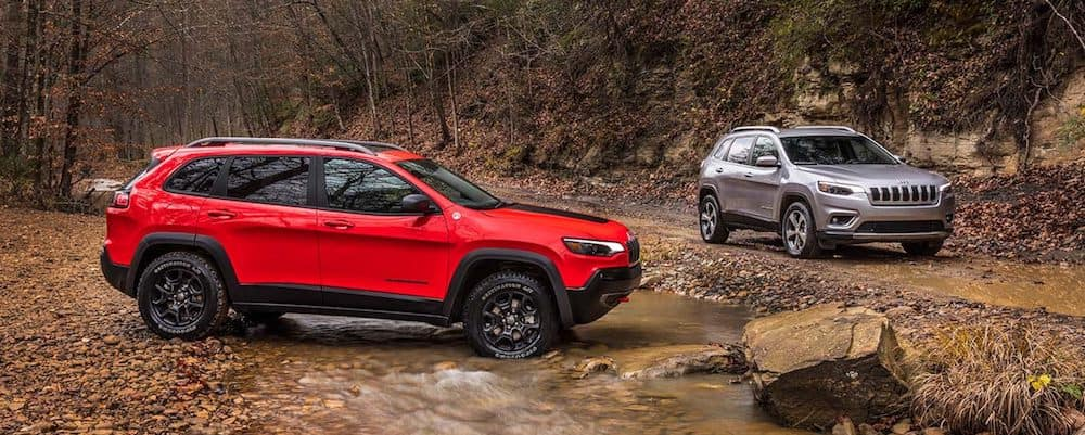 2019 Jeep Cherokee Models
