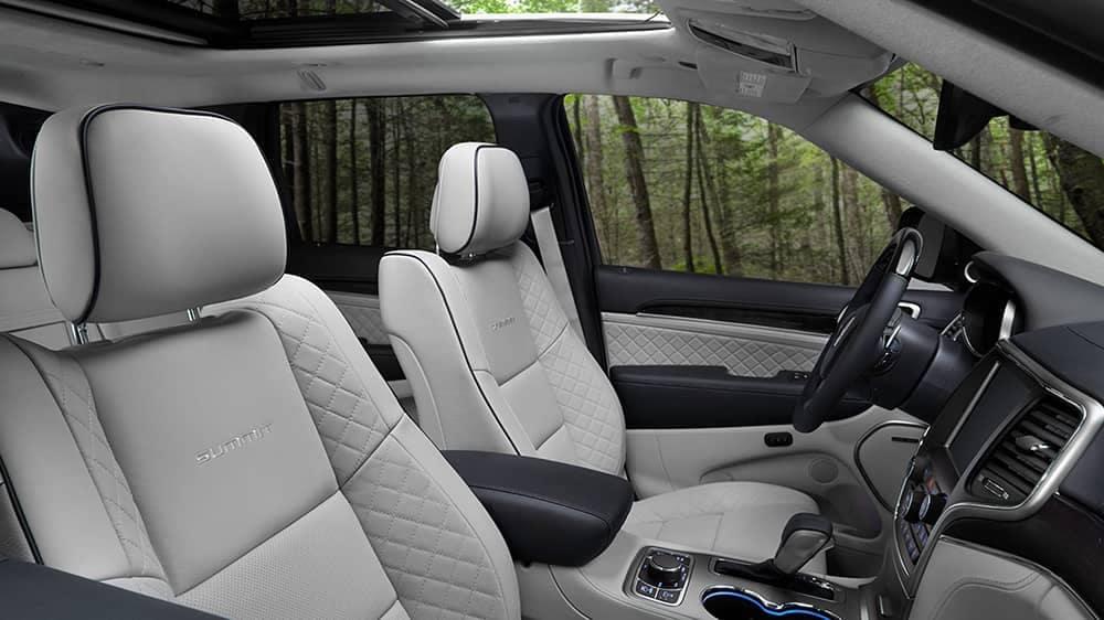 2020 Jeep Grand Cherokee Seating