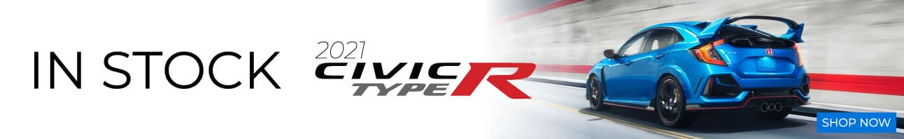 2021 Honda Civic Type R in stock at Ocean Honda of Ventura