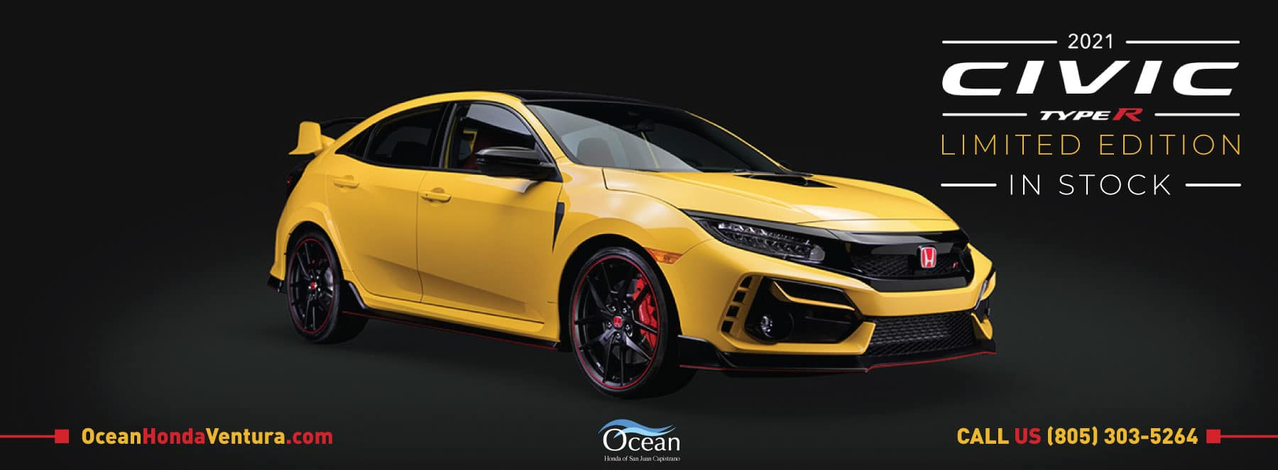 2021 Honda Civic Type R Limited Edition - In Stock