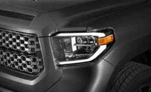 2018 Toyota Tundra headlight detail