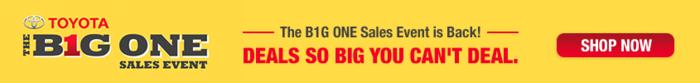 Big One Sales slider
