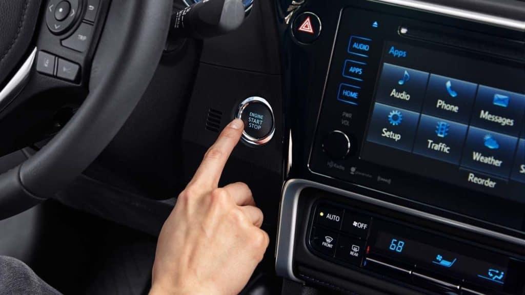 2018 Toyota Corolla Engine Start Button