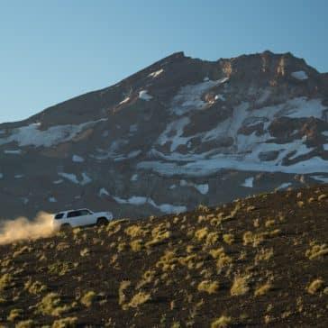 2018 Toyota 4Runner climbing