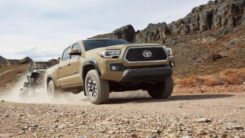 2018 toyota tacoma towing