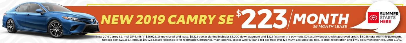 2019 Camry Sale