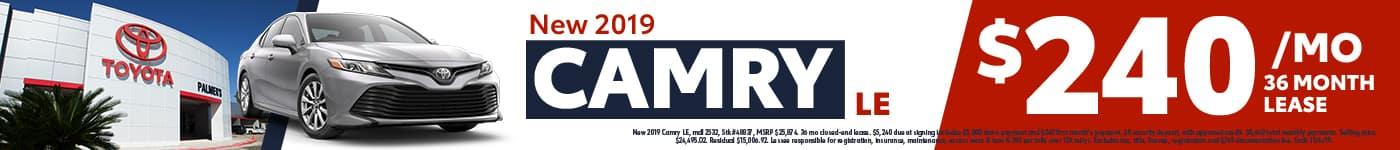 New 2019 Camry!