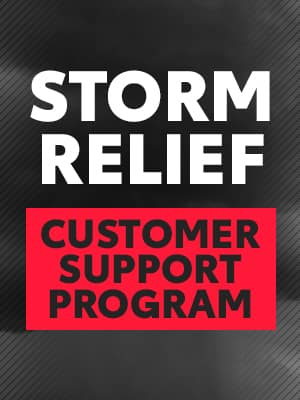 Storm Relief Customer Support Program