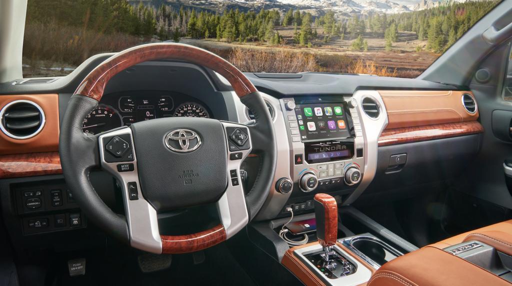 Interior of 2021 Toyota Tundra - Mobile, AL