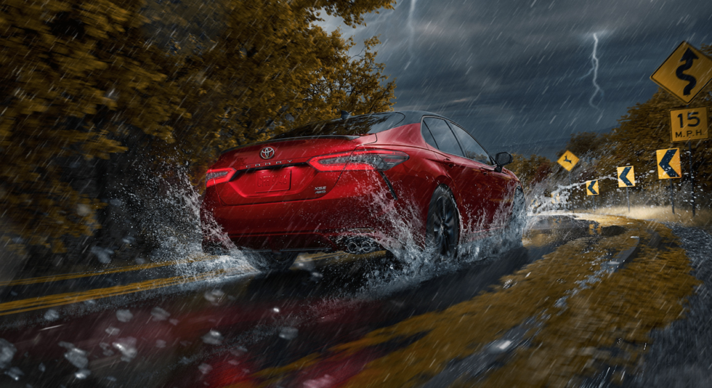 Red 2021 Toyota Camry - Mobile, AL