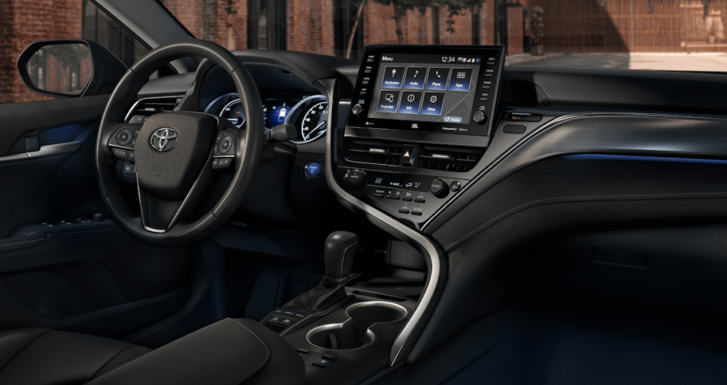 Interior 2021 Toyota Camry - Mobile, AL