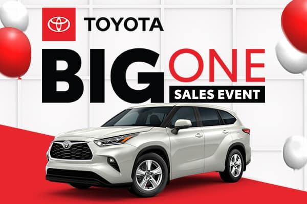 The Big One Sales Event Highlander Offer