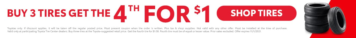 Palmer's Toyota Superstore Tire Sale