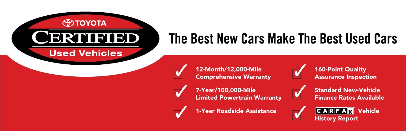 Certified Used Toyota >> Certified Used Toyota Vehicles Available Near Algonquin Il Pauly