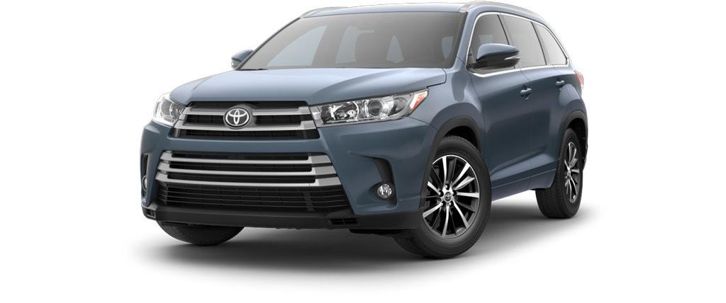 2017 Toyota Highlander Model