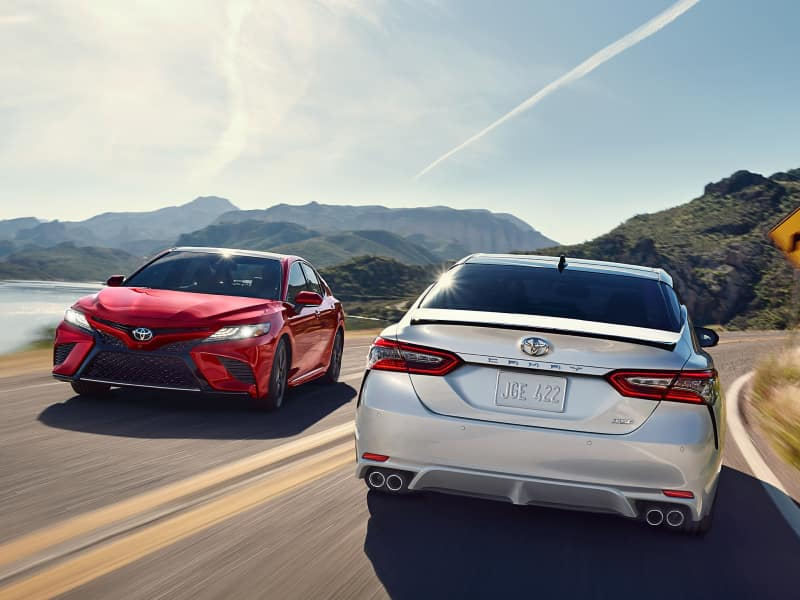 The 2020 Toyota Camry for sale at Pauly Toyota near Algonquin, IL