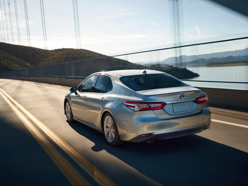 The high-performance 2020 Toyota Camry