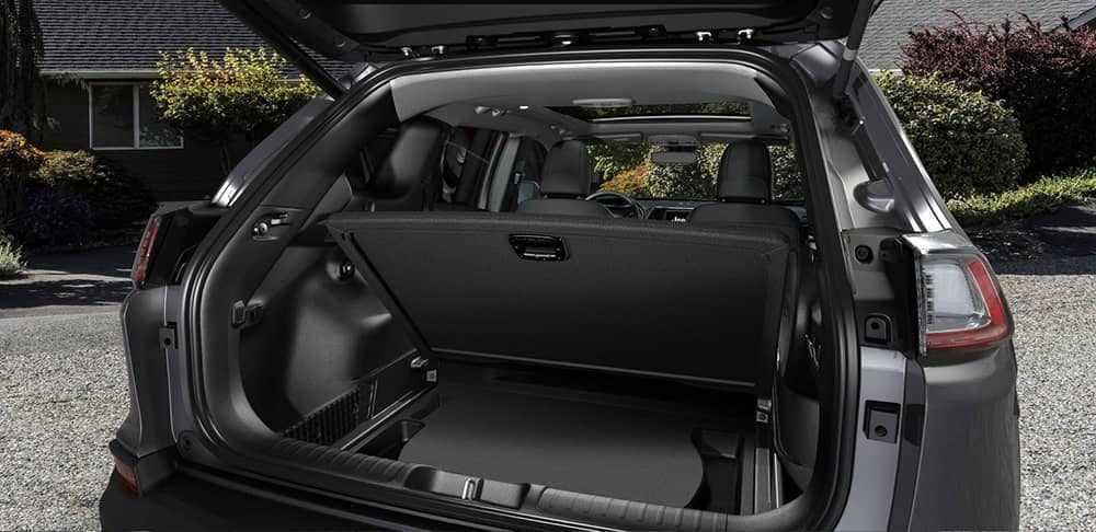 2019 Jeep Cherokee Trunk Space