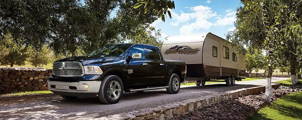 2019 Ram 1500 towing RV